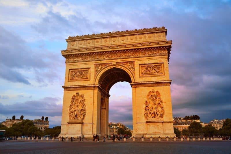 Arco Del Triunfo Francia - Viajes Por Europa: Los Mejores 2021 - 2022