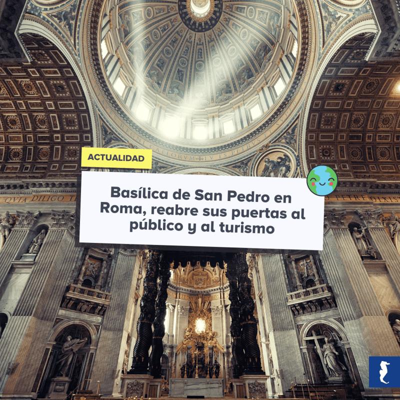 Basilica San Pedro Apertura - Blog