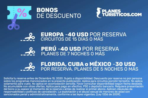 Bonos Descuento Pt - Guías De Viaje