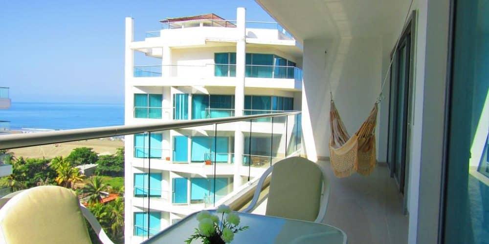 1 3 - Apartasuite Premium Con Vista Al Mar - Morros, Cartagena