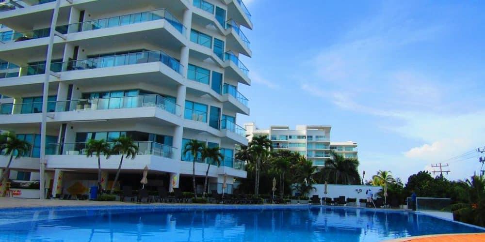 12 1 - Apartamento Con Terraza Y Vista Al Mar - Morros, Cartagena