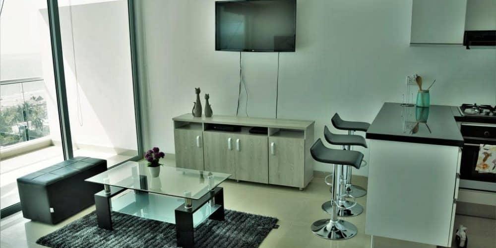 2 1 - Apartamento Con Terraza Y Vista Al Mar - Morros, Cartagena