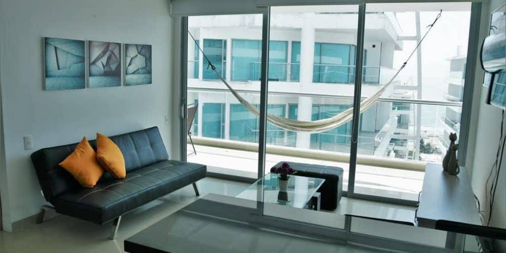 3 1 - Apartamento Con Terraza Y Vista Al Mar - Morros, Cartagena