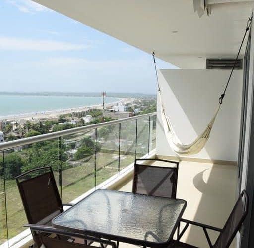 4 1 - Apartamento Con Terraza Y Vista Al Mar - Morros, Cartagena