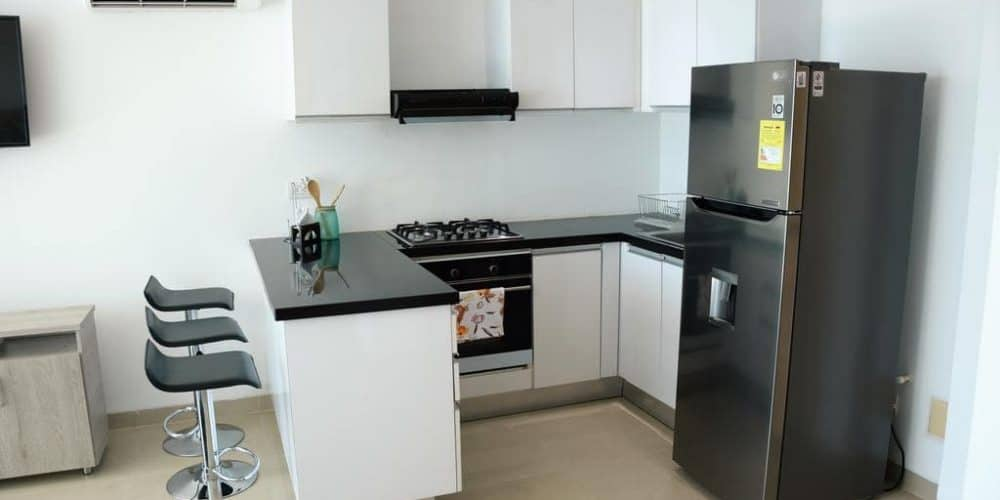8 1 - Apartamento Con Terraza Y Vista Al Mar - Morros, Cartagena
