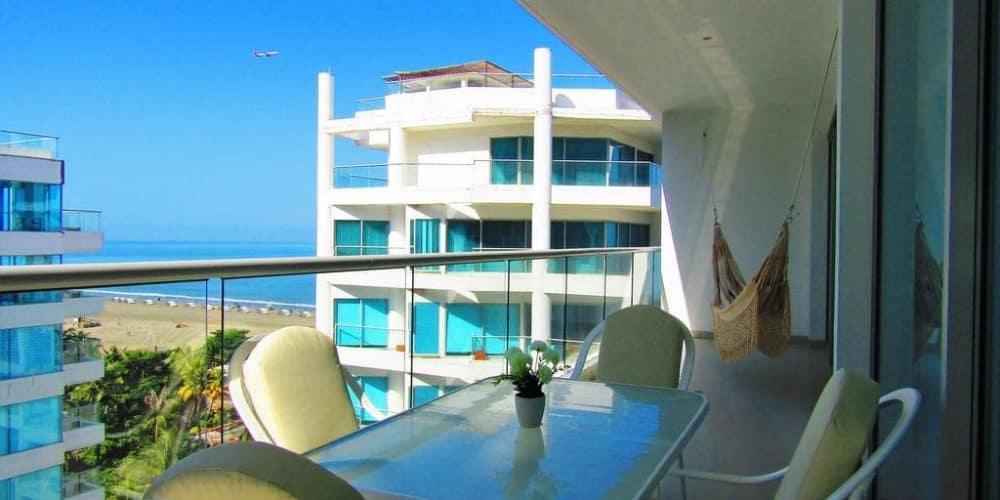 9 3 - Apartasuite Premium Con Vista Al Mar - Morros, Cartagena