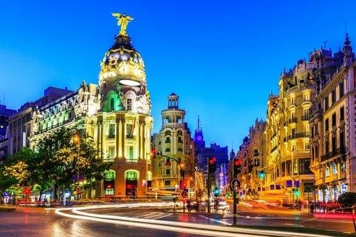 Vuela a Madrid desde Bogotá por solo $1.764.981 COP ida y regreso
