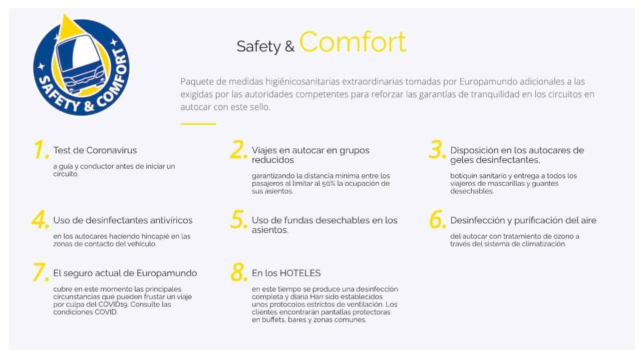 Seguridad Y Confort Viajando Con Europamundo En Planesturisticos.com