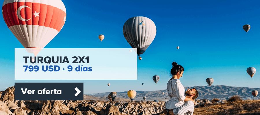 Turquia 2X1 9 Dias - Agencia De Viajes Cúcuta