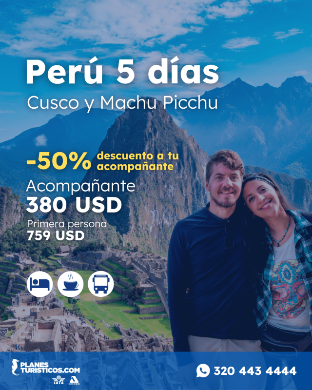 Peru 5 Días Cusco Y Machu Picchu Con Planesturisticos.com