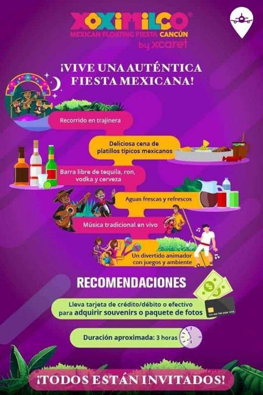 Xoximilco Xcaret Planesturisticos.com - 2 Días | Xcaret Plus + Fiesta Xoximilco