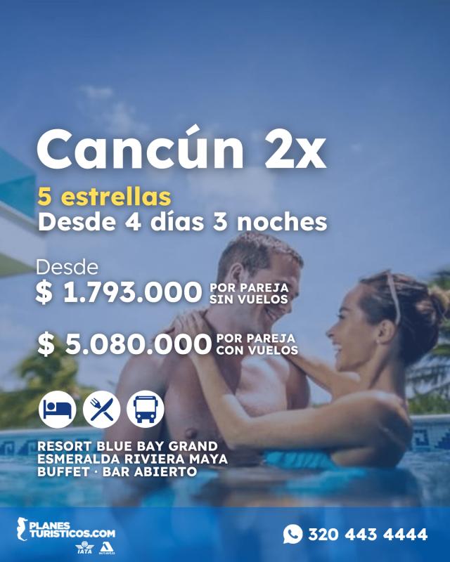 Cancun 2X Planesturisticos.com