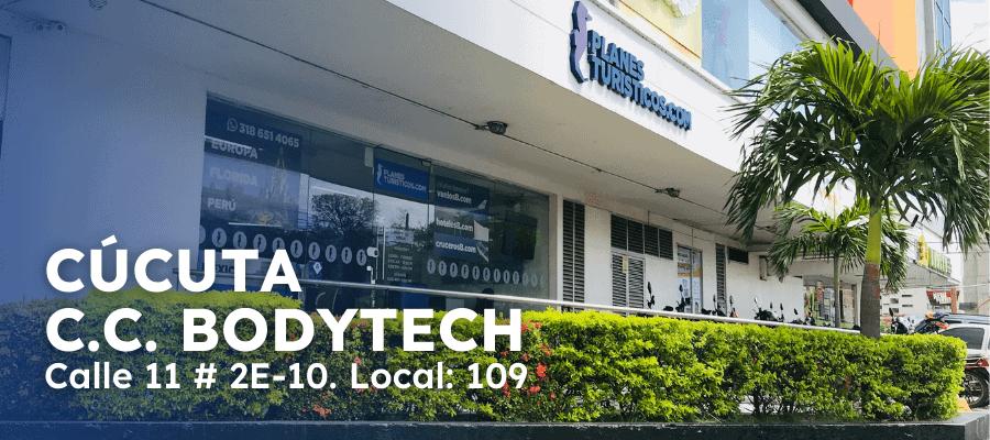 Oficina Cucuta Cc Bodytech Planesturisticos.com - Planes Turísticos
