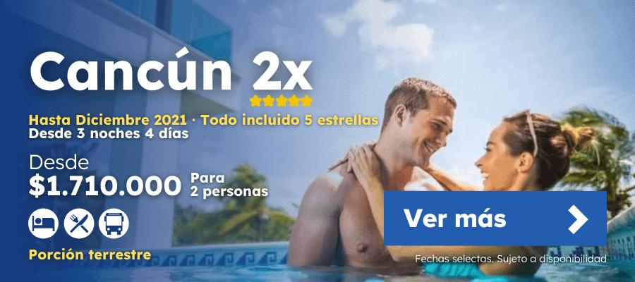 Oferta Cancun Por Pareja Diciembre 2021 Lanesturisticos.com