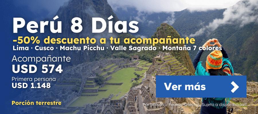 Oferta Peru 8 Dias Planesturisticos.com