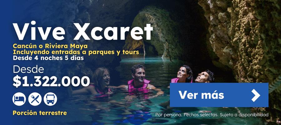 Oferta Vive Xcaret Con Parques Y Tours Planesturisticos.com