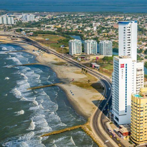 Hotel Ibis Cartagena - Vista aérea