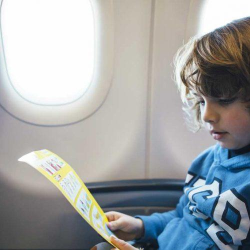 Safety-kids-airplane