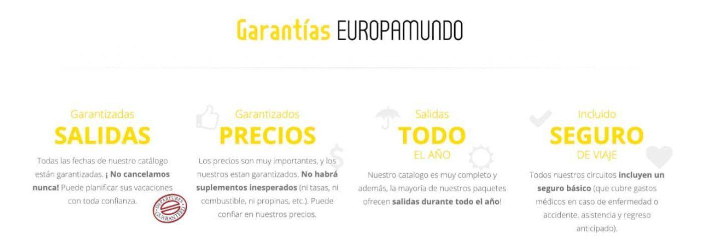Garantías De Viajar Con Europamundo En Planesturisticos.com