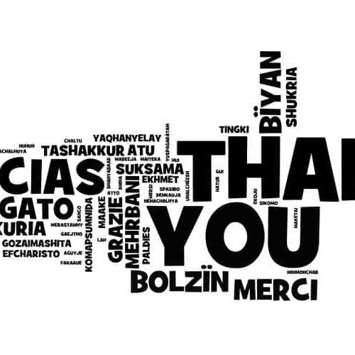 Cómo Decir Gracias En 50 Idiomas